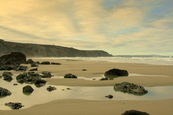 One of our local beaches.