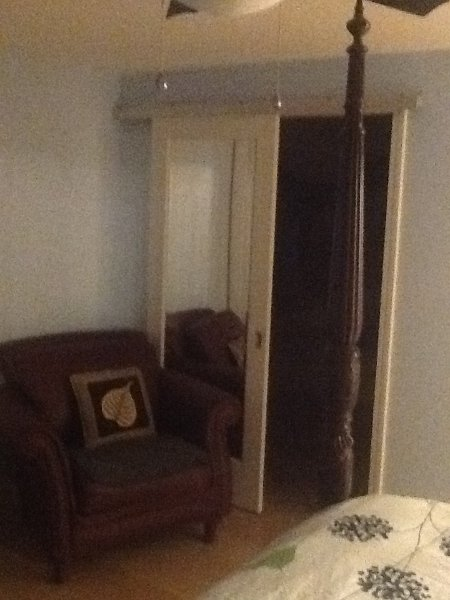 This is walk in closet in the private room