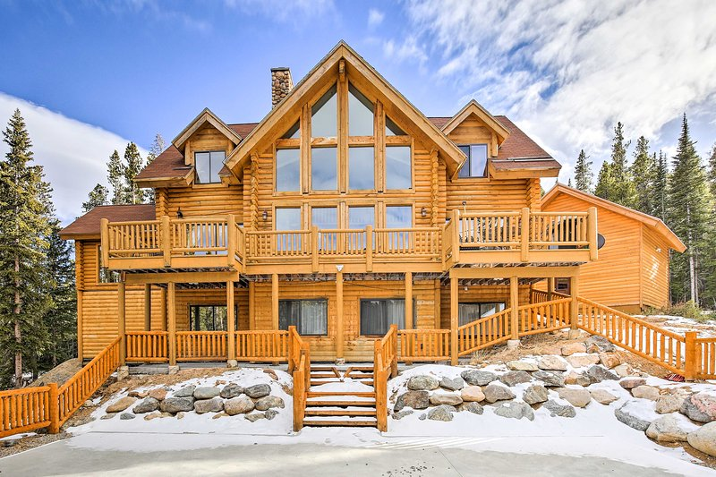 Welcome to your Alma vacation rental cabin, perfect for a family or friend mountain getaway!