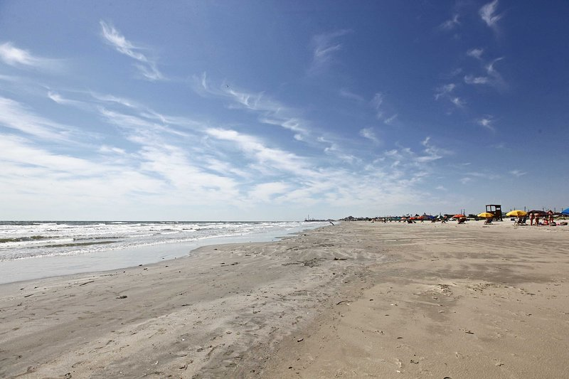 The beach is just a short drive away!
