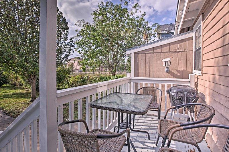 Escaparía a la soleada Galveston en esta casa de vacaciones!