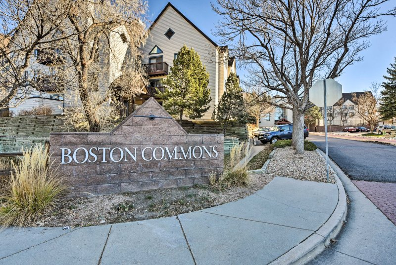 Enjoy a central location in the middle of the Denver Tech Center!