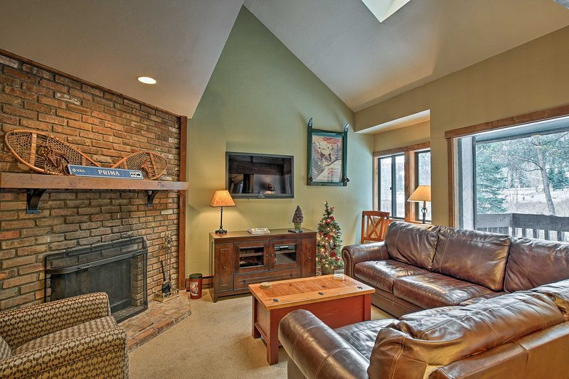 Your alpine adventure awaits in this beautiful 3-bedroom, 3-bathroom Vail vacation rental townhome.