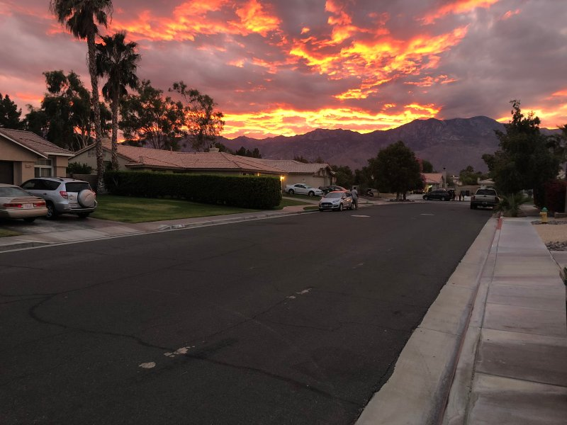 Sunset in our great neighborhood!