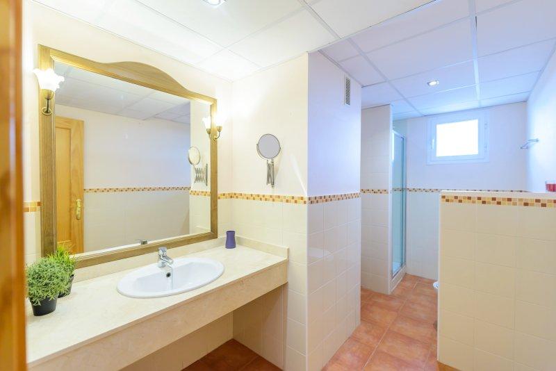 Tweede badkamer.