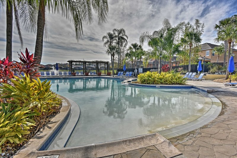 Enjoy a magical getaway in the heart of Kissimmee when you stay at this Terra Verde Resort vacation rental townhome!