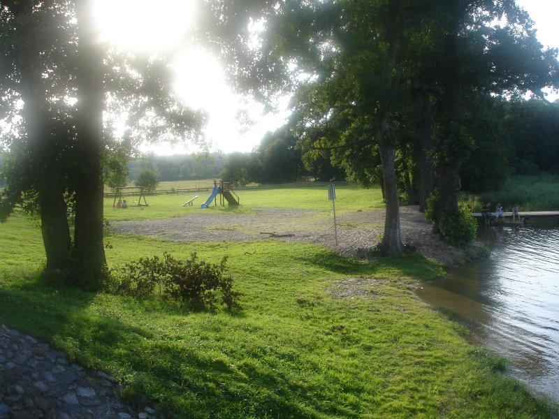 Playground at the lake