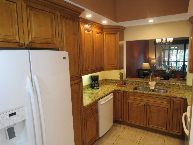 Beautiful kitchen with all new appliances. Enjoy making a wonderful meal.