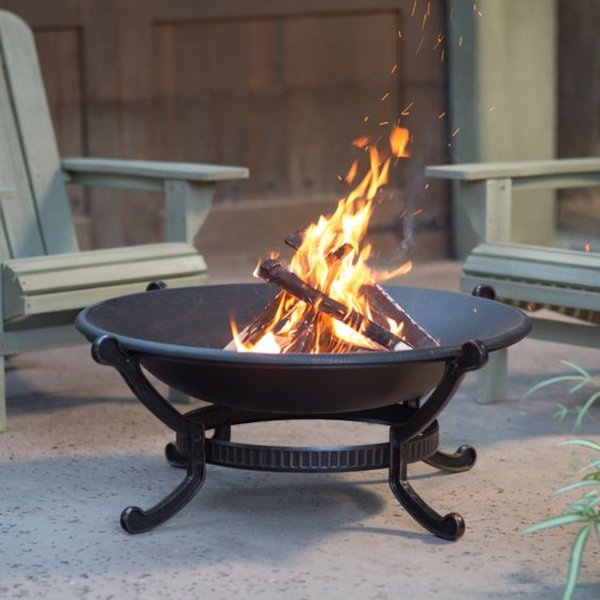 Firepit under Pergola for cooler nights. Come visit year round.