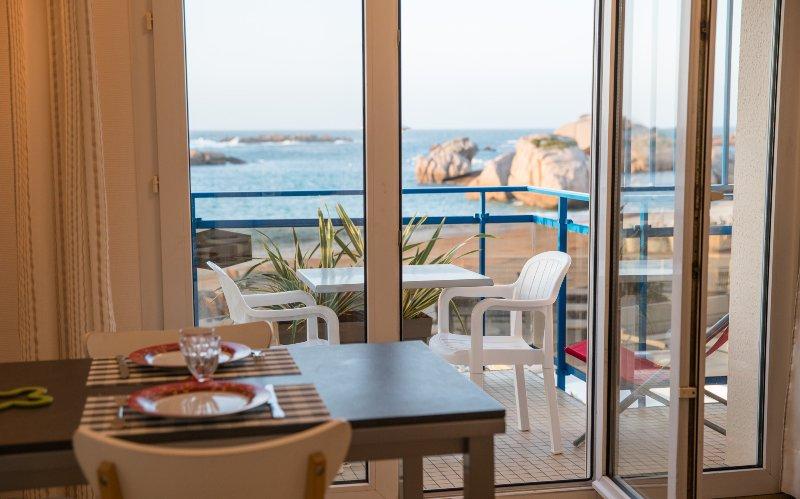 comedor y terraza