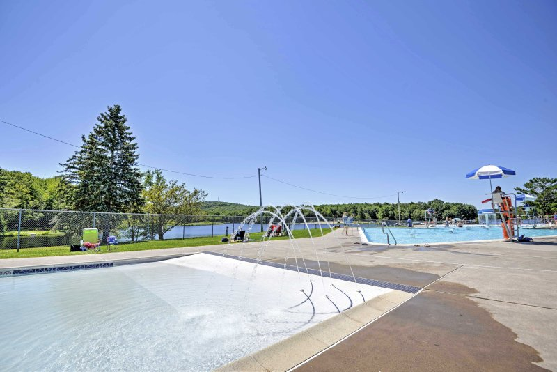 Everyone will love swimming and playing in one 3 community pools.