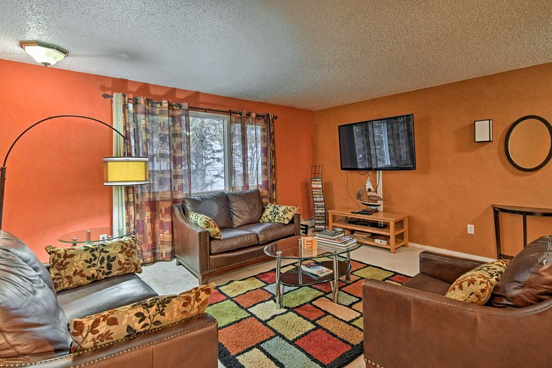 Enjoy a variety of outdoor activities from this cozy vacation rental apartment in Anchorage!