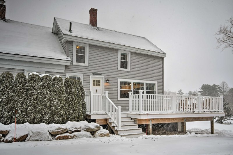 You'll want to make this 3-bedroom, 2-bathroom vacation rental house your new favorite destination in Rockland, Maine!