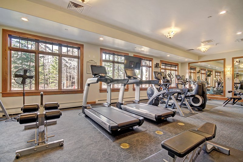 Fitness center available for guest use