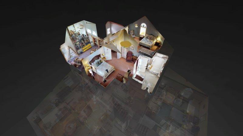 3e niveau vue 3D