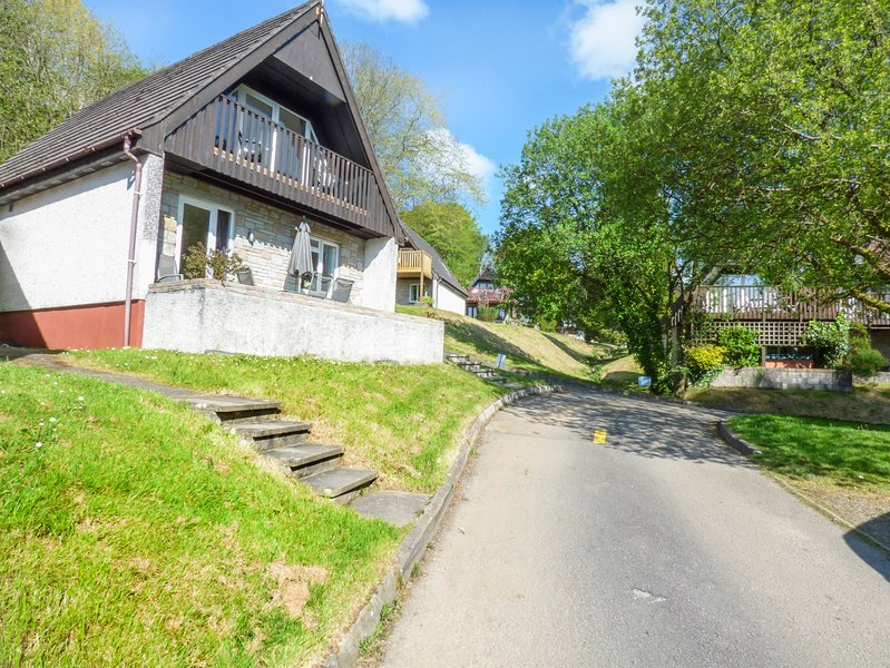 LODGE 45, King-size, pets welcome, en-suite, Gunnislake, Ref 933615, holiday rental in Callington