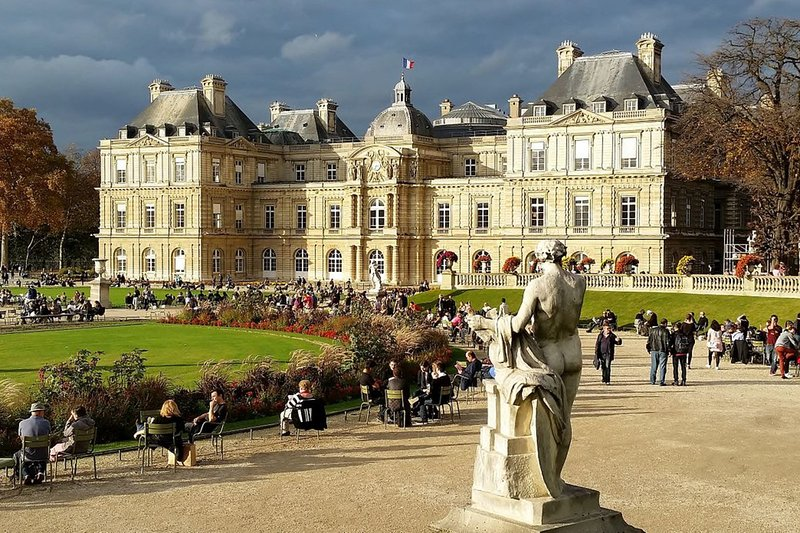 Luxemburg-Gärten Paris