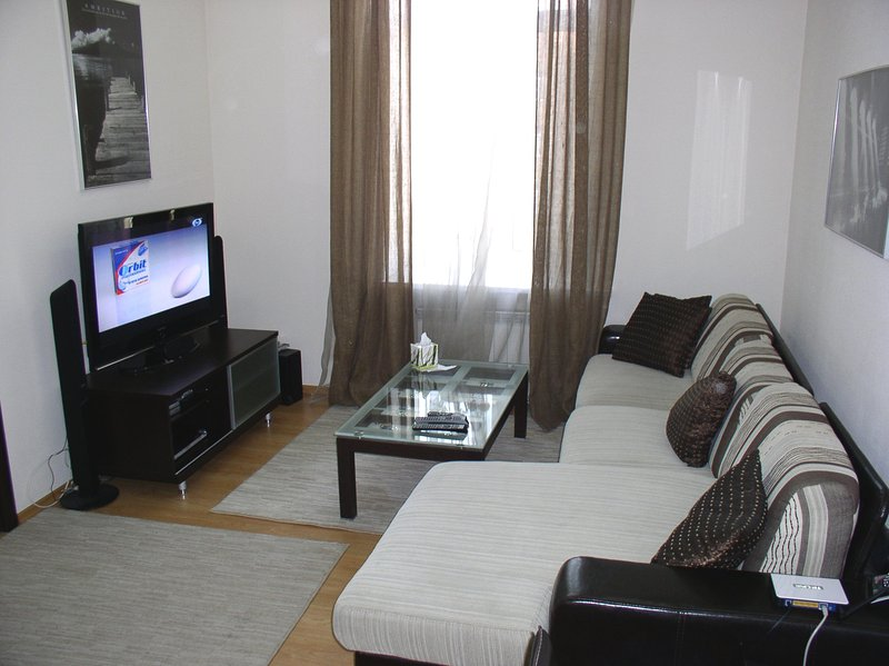 3016 - Two bedrooms. 21 Yaroslaviv Val strr. Centre, vacation rental in Kyiv (Kiev)