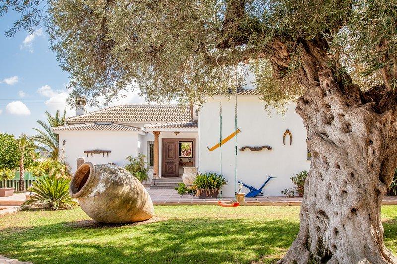 Cubo's Villa Bellavista La Jona, holiday rental in Estacion de Cartama