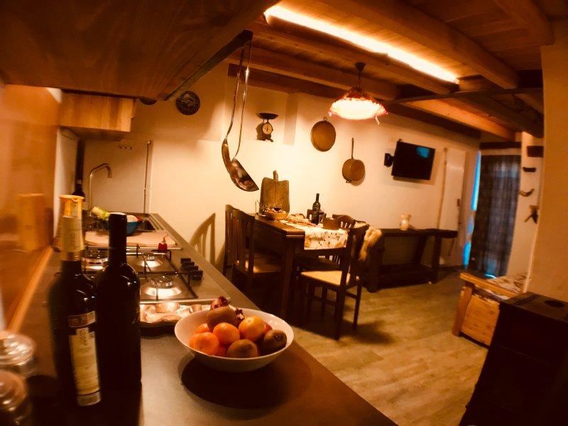 Il melo e la gatta Appartamento 6 posti, casa vacanza a Chambave