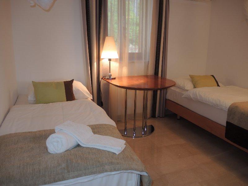 Villa Bianco and Villa Azzurro: twin bedded room on ground floor