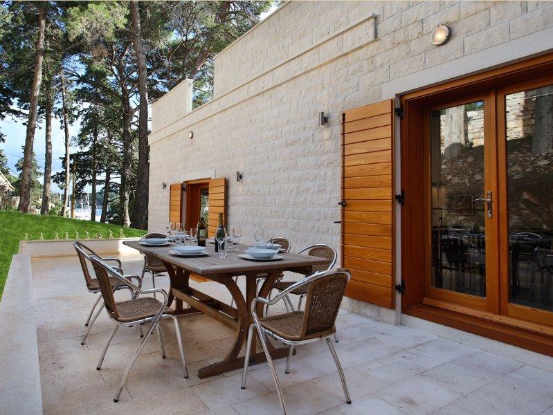 Villa Bianco: BBQ terrace
