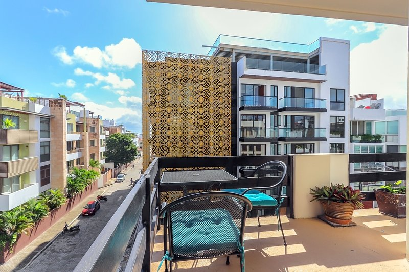 Wrap-around balcony