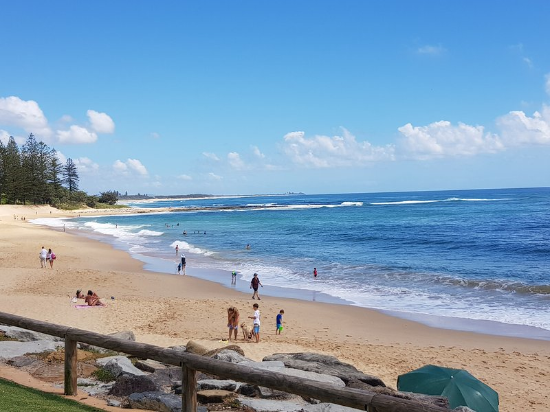 Moffat Beach is another famous beach which is close to Splendour by the Lake.