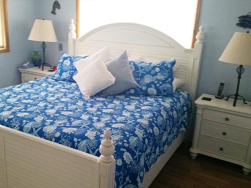 cama Vista al Mar Rey con espuma de memoria