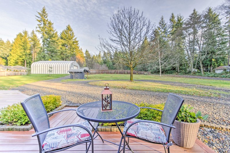 Your relaxing Washington getaway begins at this charming Gig Harbor home!