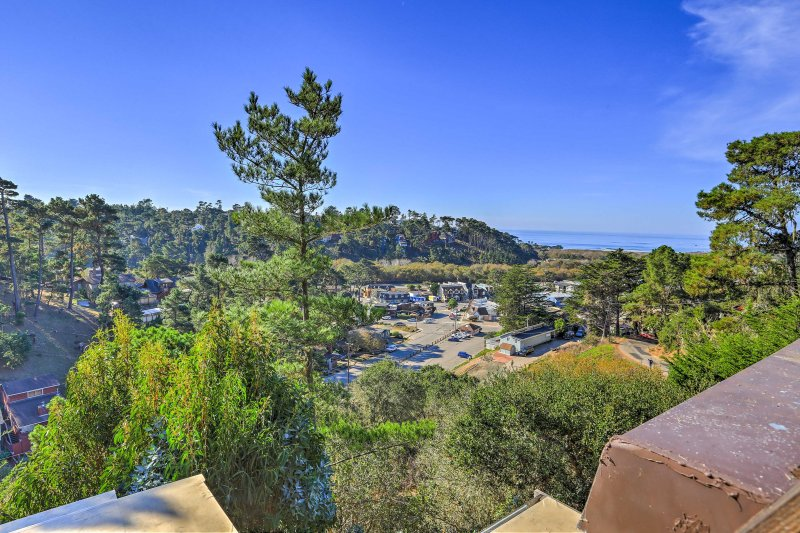This unique home has everything you need for a romantic Cambria retreat!