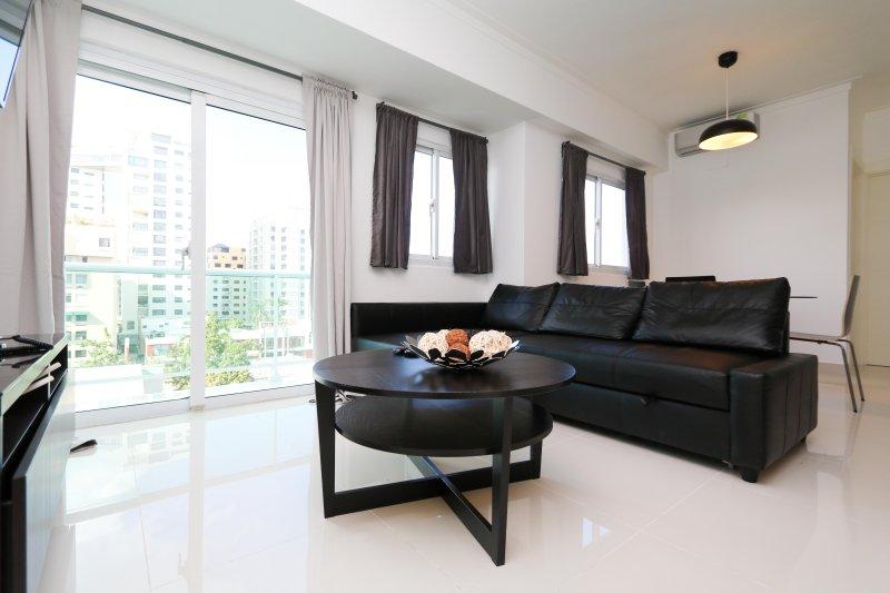 One bedroom apartment in downtown Santo Domingo (Piantini), vacation rental in Santo Domingo