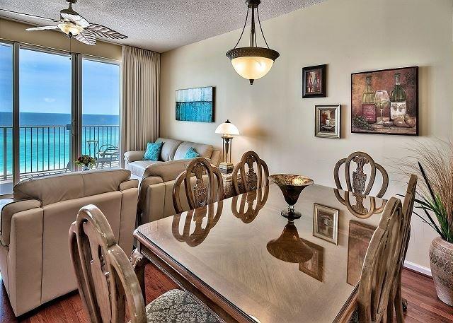 Majestic Sun 604B - Salle à manger avec vue sur le golfe