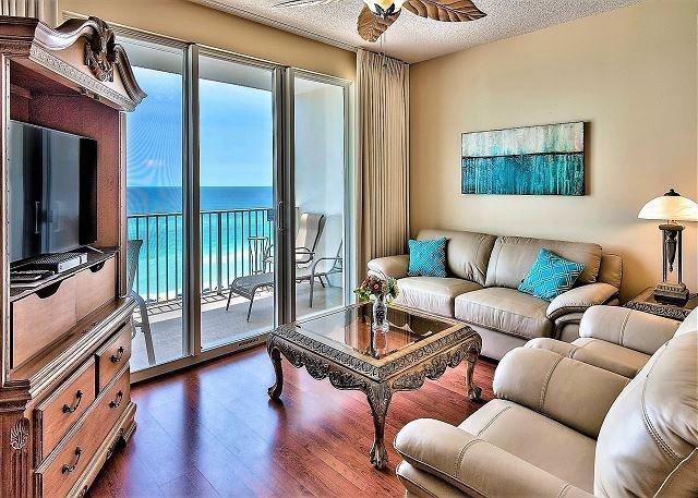 Majestic Sun 604B - Living Vues du Golfe Chambre
