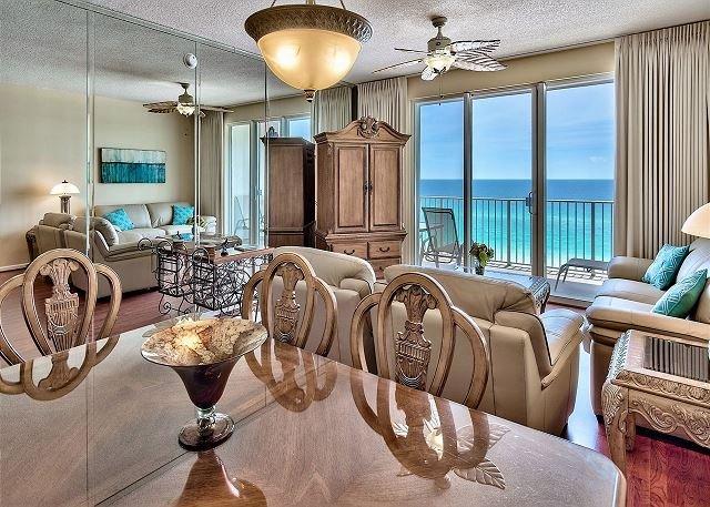 Majestic Sun 604B - salon / salle à manger W / Vues du Golfe