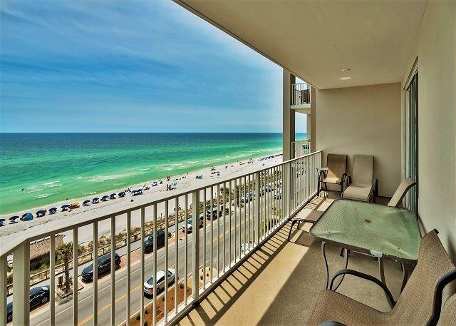 Majestic Sun 604B - balcon privé avec vue sur le golfe