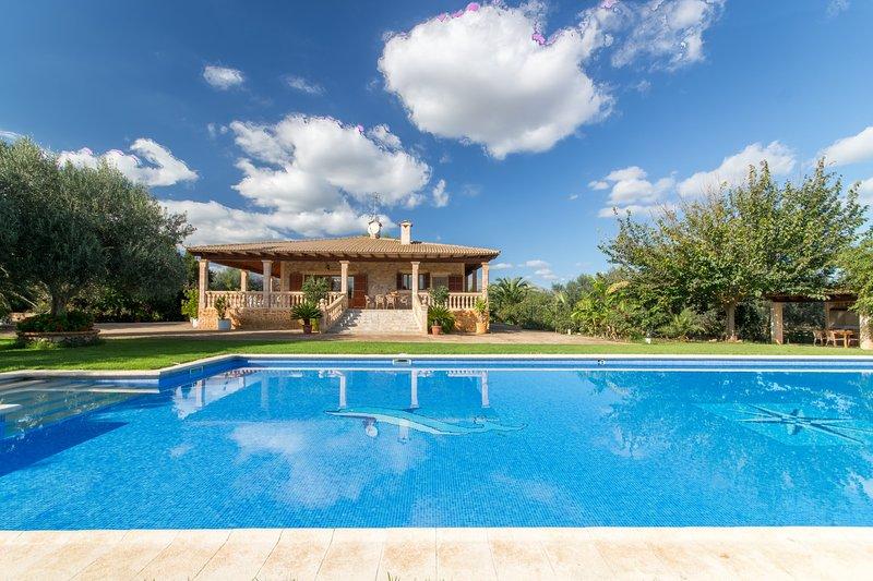 Sa Rata (Can Berguins), Finca 5StarsHome Mallorca, vacation rental in Buger