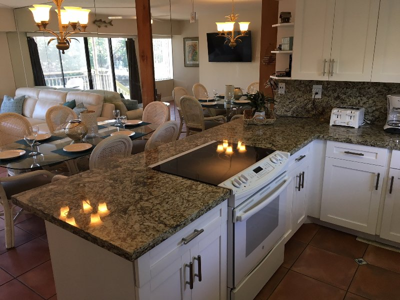 New Modern Kitchen W/All Granite Counter Top