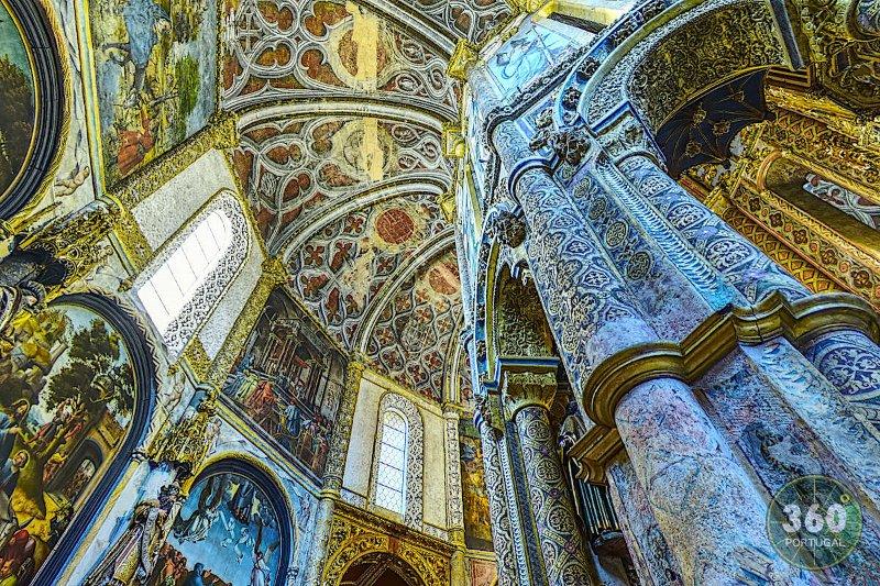 La chapelle, le couvent du Christ, le château de Tomar