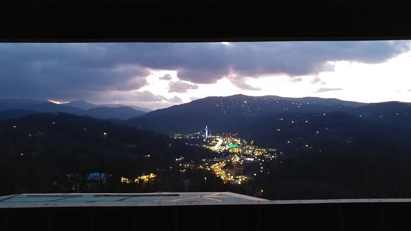 Amazing views, day and night!  Panoramic and unobstructed!