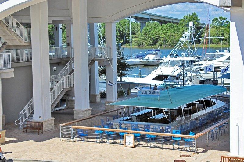 Barco tema bar al aire libre
