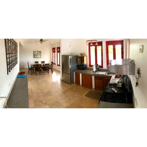 Kitchen/indoor dining room