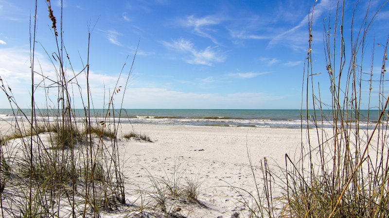 view from the Pass-A-Grille Beach!
