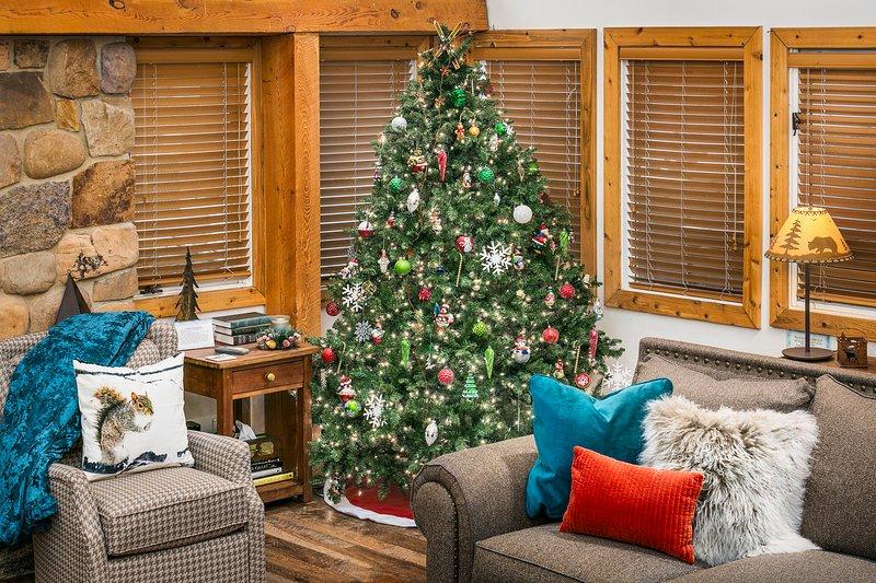 Schöne Ferien! 2017 Dezember .... wir setzen jeden Dezember einen Feiertagsbaum und geschmackvolle Einrichtung nach oben