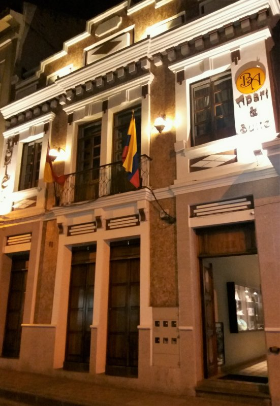 Hotel Butique Patimonial.
