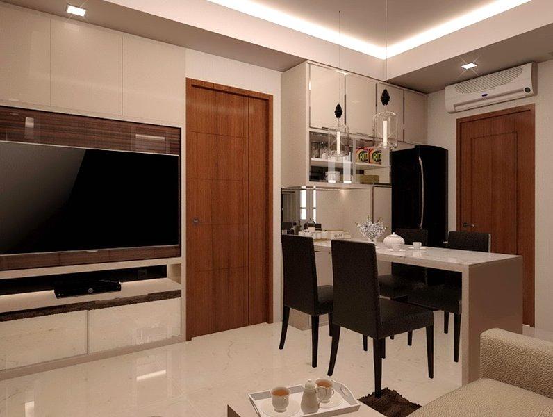 Surabaya Luxury Educity Apartment 2BR+1BR Princeton Tower, alquiler vacacional en East Java