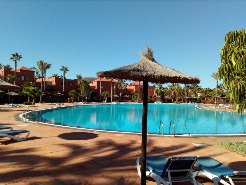 1 of the complex swimming pools