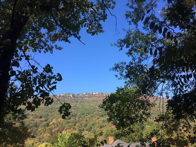 Lookout Mountain  as viewed from deck/patio