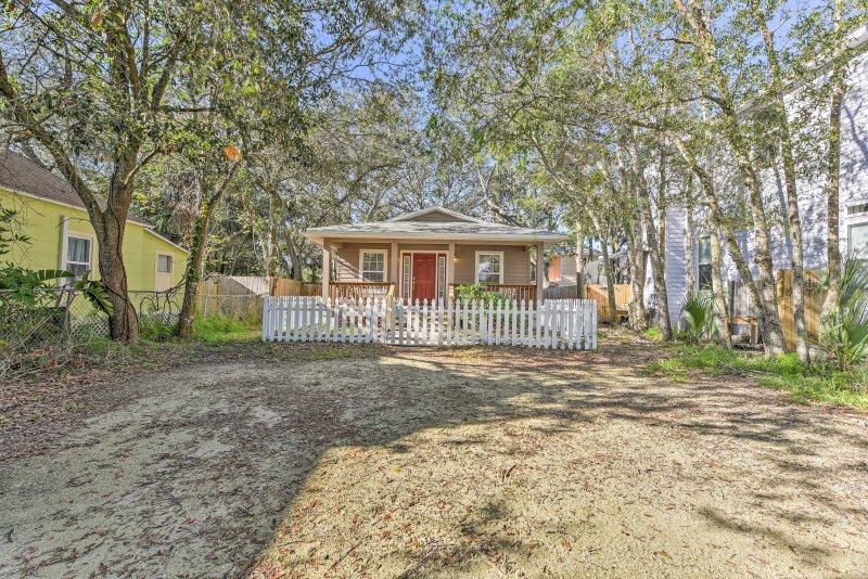 Esta encantadora casa es el destino perfecto para su próxima escapada de la Florida!