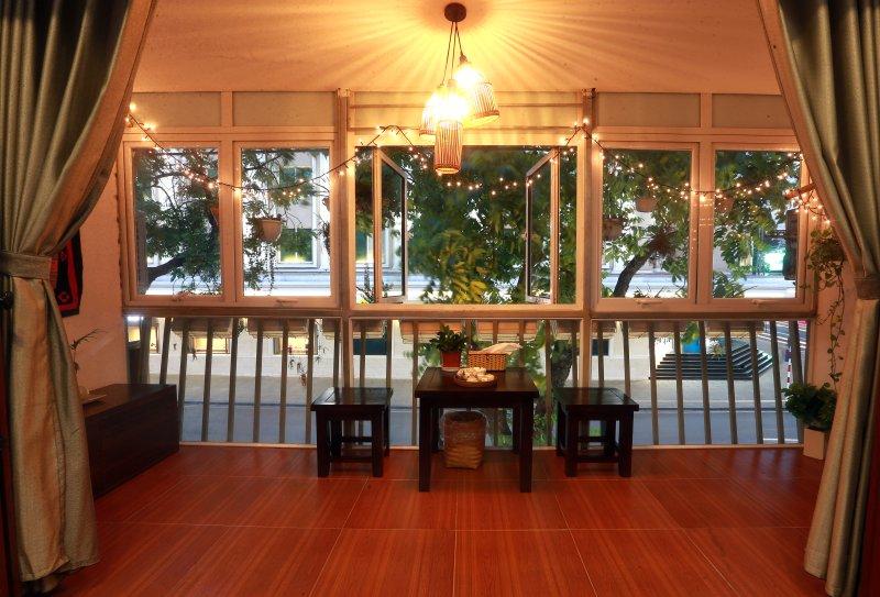 Balcony Corner